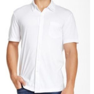 James Perse Short Sleeve Button up
